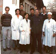 The Clinic in Beijing at which Dr. Richard Grossman practiced acupuncture